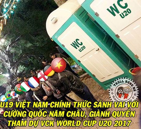 Anh che vui U19 Viet Nam gianh ve du World Cup - Anh 5