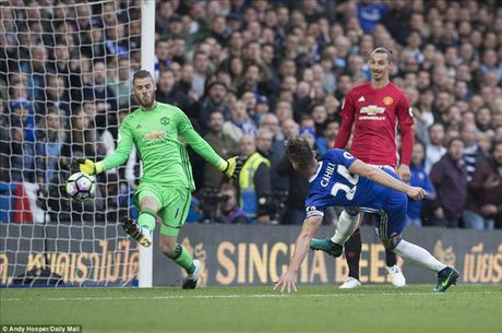 Chelsea 4-0 Man United: Jose Mourinho khong con dac biet - Anh 4