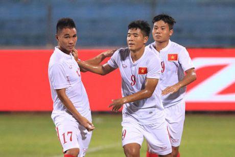 U19 Viet Nam vo oa niem vui khi gianh ve di U20 the gioi - Anh 3