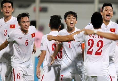 U19 Viet Nam vo oa niem vui khi gianh ve di U20 the gioi - Anh 4
