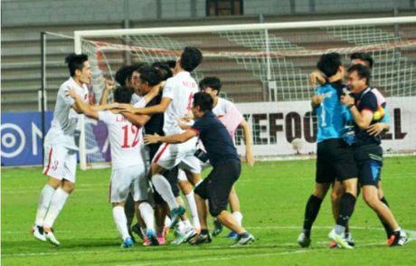 U19 Viet Nam vo oa niem vui khi gianh ve di U20 the gioi - Anh 5