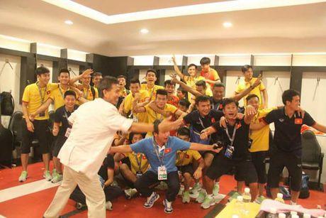U19 Viet Nam vo oa niem vui khi gianh ve di U20 the gioi - Anh 7