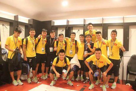 U19 Viet Nam vo oa niem vui khi gianh ve di U20 the gioi - Anh 8