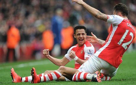 Arsenal dang nho cai 'dau vang' cua Giroud - Anh 2