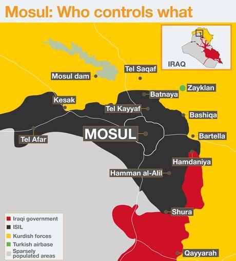 Tho Nhi Ky bat dau nhap cuoc chien dich giai phong Mosul - Anh 2