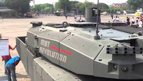 Indonesia tinh dung xe tang Lepard 2RI de danh dao? - Anh 11