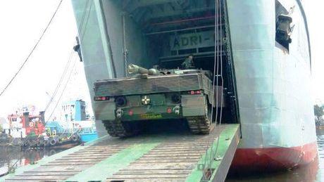 Indonesia tinh dung xe tang Lepard 2RI de danh dao? - Anh 2