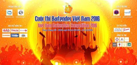 Khai mac 'Cuoc thi Bartender Viet Nam 2016' - Anh 4