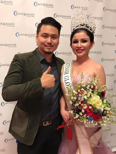Janny Thuy Tran dang quang Hoa hau Phu nhan Viet Nam Hoan cau 2016 - Anh 2