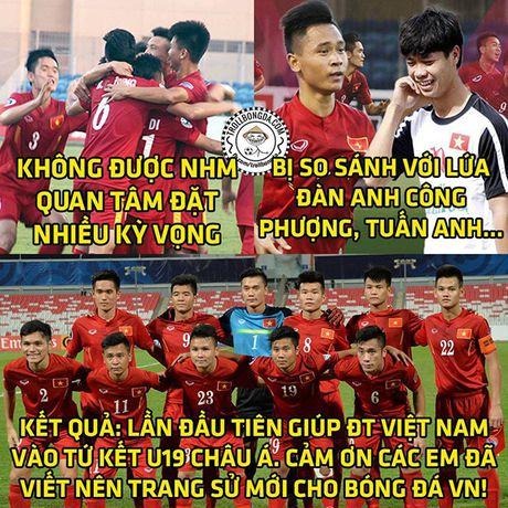 Cac 'thanh che' len ngoi khi U19 Viet Nam vao World Cup - Anh 1