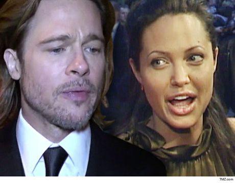 Angelina Jolie va Brad Pitt se khong ly hon? - Anh 1