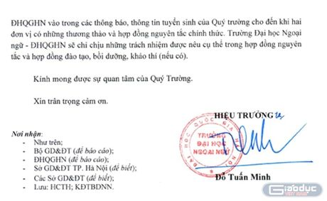 Truong Trung cap Cong dong Ha Noi ngang nhien tuyen sinh khi chua du ho so - Anh 3