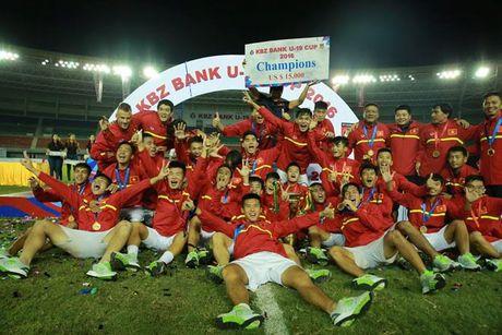 Hanh trinh dan toi ky tich U19 Viet Nam - Anh 1