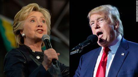 Ba Clinton ap dao hoan toan ong Trump - Anh 1