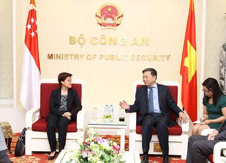 Bo truong To Lam tiep Dai su Australia va Singapore - Anh 2
