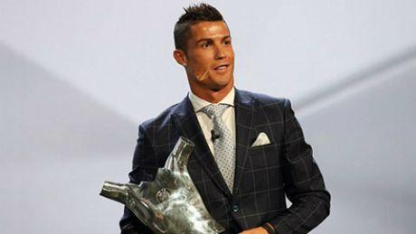 Ronaldo dan dau 5 ung vien dau tien tranh QBV 2016 - Anh 3