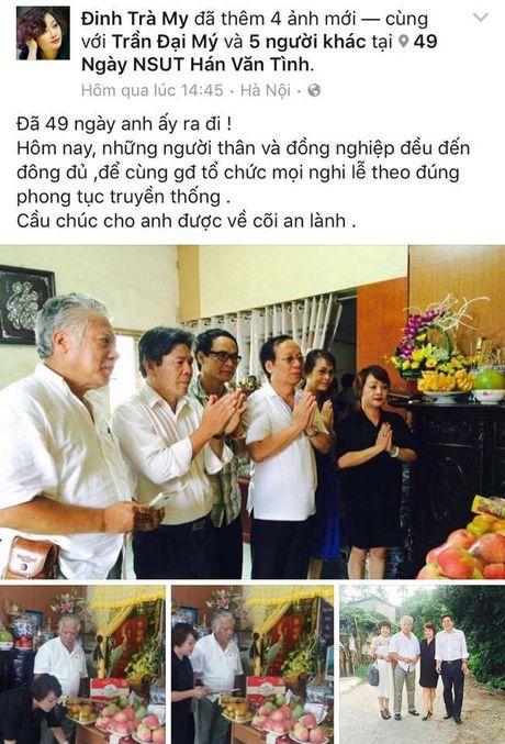 Nghe si Viet te tuu thap nen nhang 49 ngay cho nghe si Han Van Tinh - Anh 1