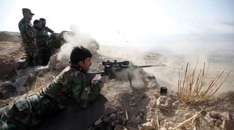 Tho Nhi Ky tham gia vao tran chien Mosul du Iraq phan doi - Anh 1