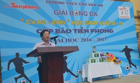 Trao giai bong da cup bao Tien Phong - Anh 2