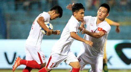 Ky tich: U.19 Viet Nam danh bai chu nha Bahrain, gianh ve du san choi World Cup - Anh 1