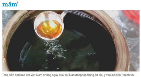 Bao Thanh Nien cao loi va go bai ve nuoc mam - Anh 1
