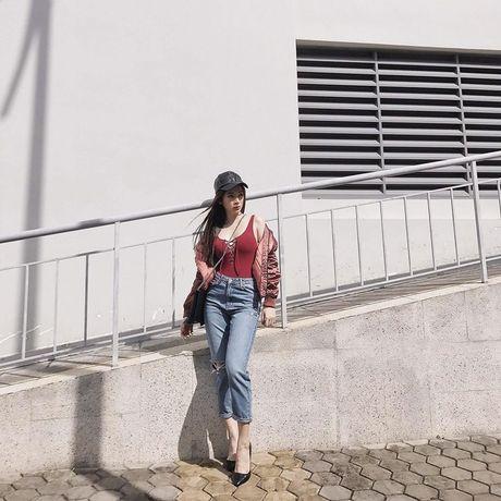 Hoc street style thu sanh dieu nhu Hoang Thuy, Diem My - Anh 10