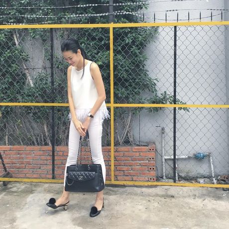 Hoc street style thu sanh dieu nhu Hoang Thuy, Diem My - Anh 15