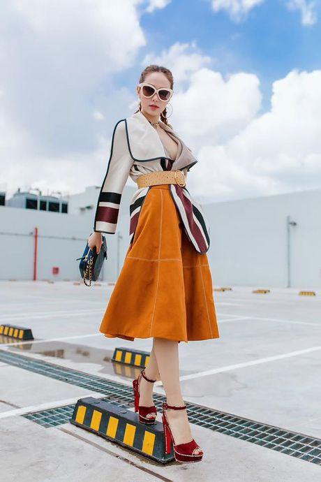 Hoc street style thu sanh dieu nhu Hoang Thuy, Diem My - Anh 5
