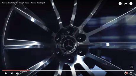 Tiet lo ban dau hinh hai Mercedes-Benz Pickup sap ra mat - Anh 6