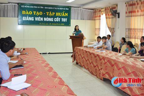 Dao tao giang vien nong cot - nong dan day nong dan - Anh 1