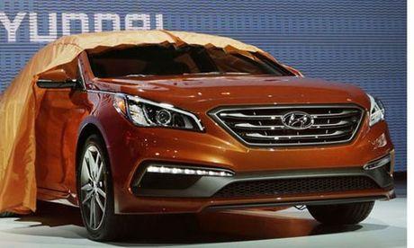 Hyundai trieu hoi Sonata do loi cua so troi - Anh 1