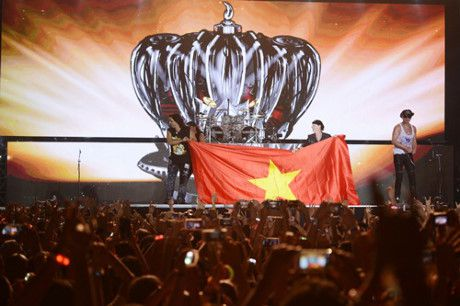 Scorpions 'dot chay' Monsoon Music Festival 2016 - Anh 1