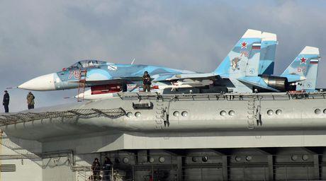 Vu khi tren tau san bay Nga sang Syria tham chien - Anh 3