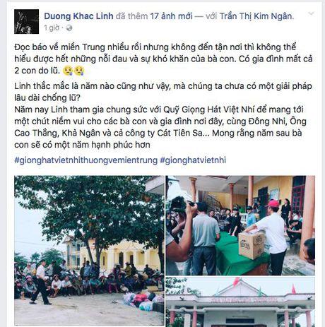 Dong Nhi cung Ong Cao Thang chat day 'bao tai' tinh thuong va thuoc men den voi mien Trung - Anh 2
