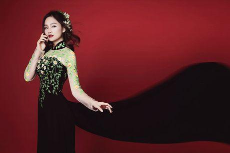 Lan Phuong dep 'am anh' trong bo anh ao dai Halloween - Anh 1