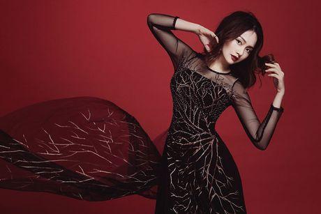 Lan Phuong dep 'am anh' trong bo anh ao dai Halloween - Anh 4