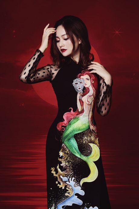 Lan Phuong dep 'am anh' trong bo anh ao dai Halloween - Anh 6