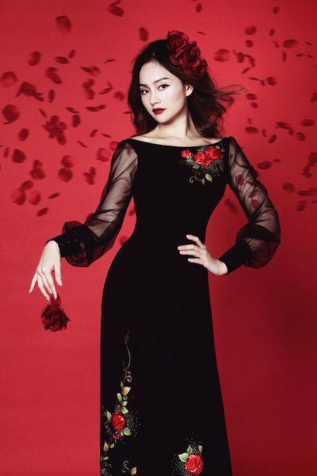 Lan Phuong dep 'am anh' trong bo anh ao dai Halloween - Anh 7