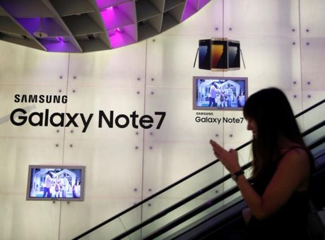 Samsung tinh giam 50% Galaxy S8 cho nguoi dung Note 7 - Anh 1