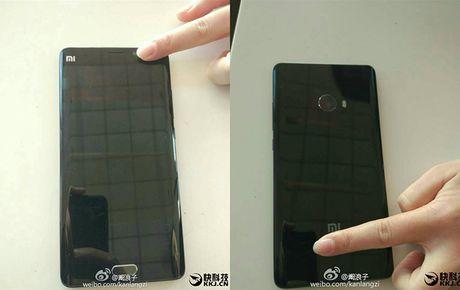 Xiaomi Mi Note 2 man hinh cong, cau hinh 'khung' lo dien - Anh 1
