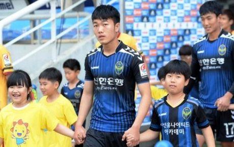 Xuan Truong lan thu hai duoc da chinh tai K.League - Anh 1