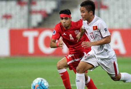 Cau thu Bahrain khoc nuc no vi thua U19 Viet Nam - Anh 1