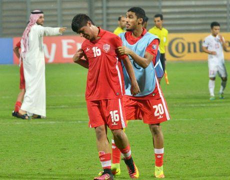 Cau thu Bahrain khoc nuc no vi thua U19 Viet Nam - Anh 3