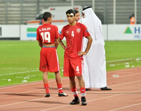 Cau thu Bahrain khoc nuc no vi thua U19 Viet Nam - Anh 5
