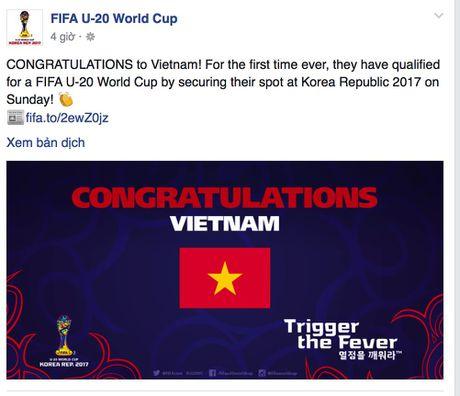 FIFA, AFC chuc mung ky tich World Cup cua U19 Viet Nam - Anh 1
