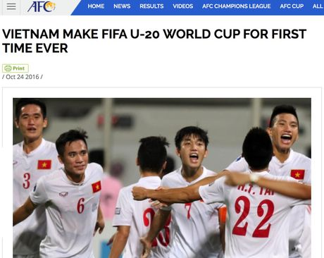 FIFA, AFC chuc mung ky tich World Cup cua U19 Viet Nam - Anh 2