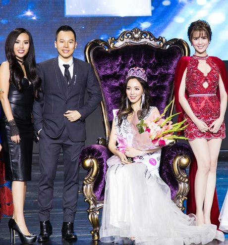 Ngoc Trinh du chung ket Hoa hau quoc gia Han Quoc 2016 - Anh 2
