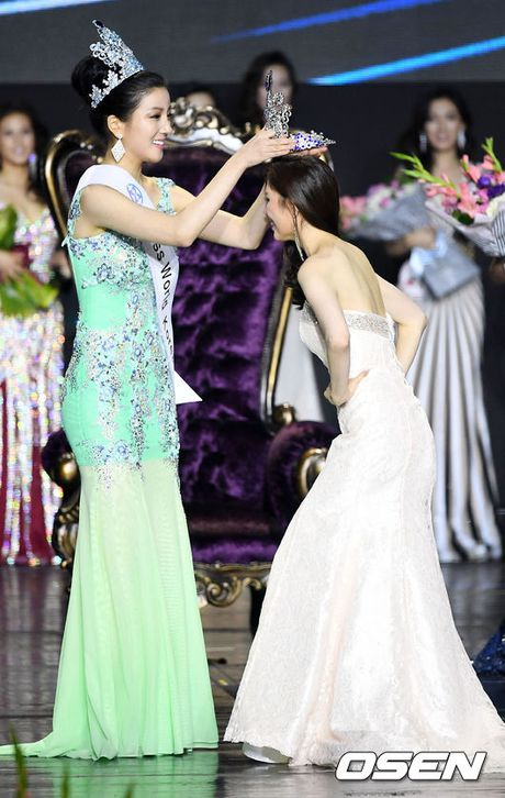 Ngoc Trinh du chung ket Hoa hau quoc gia Han Quoc 2016 - Anh 5