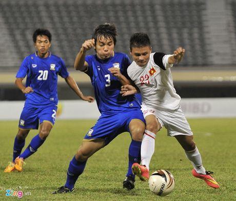 Thanh Hau, Quang Hai trai long ve U19 Viet Nam - Anh 1