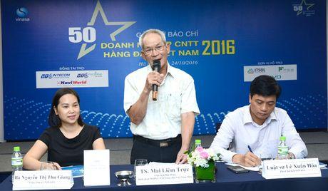 Cong bo Top 50 Doanh nghiep CNTT Viet 2016 - Anh 1